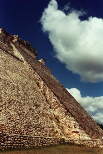 Pyramide du Devin, Uxmal