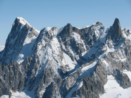 Grandes Jorasses, Mont Blanc